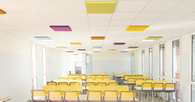 Vigodarzere's new school's cafeteria, in the province of Padova.