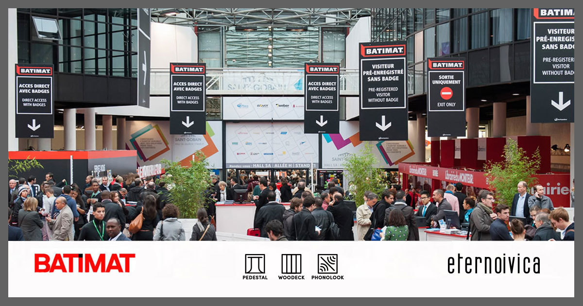 BATIMAT 2019 - Paris